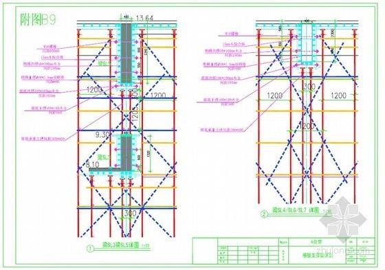 [北京]學校禮堂高大模板及支撐安全施工方案(中建)