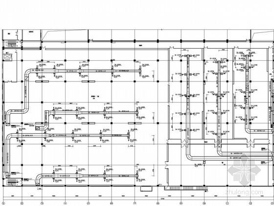 [江苏]生产厂房空调通风防排烟系统设计施工图(含洁净空调、工艺通风)