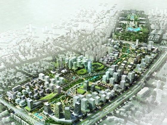 [广东]现代风格办公区规划及单体方案文本(知名建筑设计)