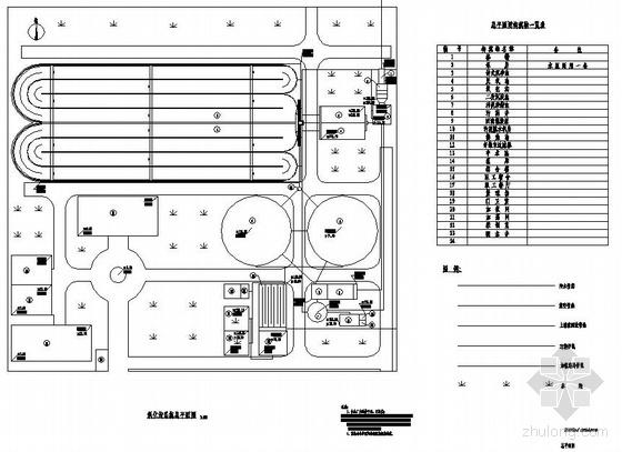 20000m3/d生活污水处理厂图纸