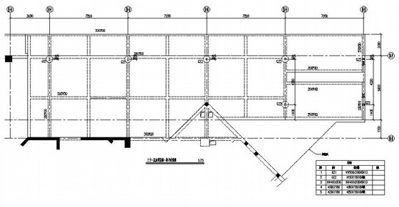 某广场屋面加固改造工程钢结构施工图