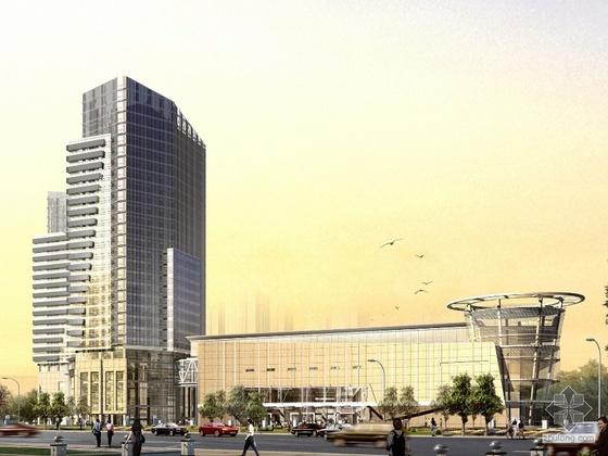 [北京]某福建产品市场工程设计方案