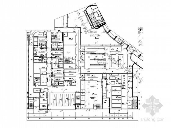 [三亚]奢华五星级酒店弱电智能施工图190张(全套智能系统点位表 最新编制)