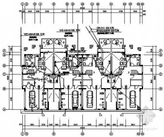 三层别墅建筑电气施工图纸