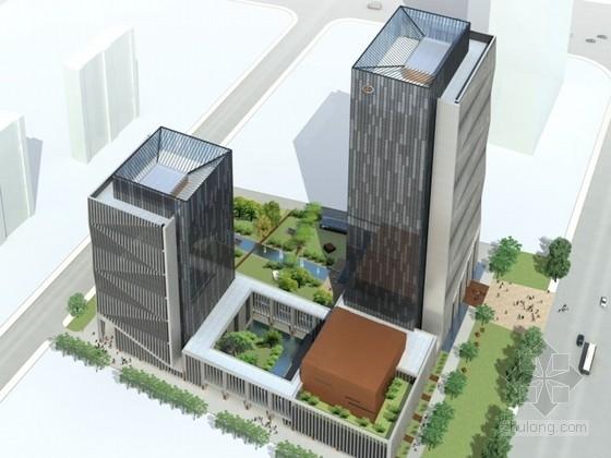 [山东]某二十五层办公楼建筑方案文本(含ppt)