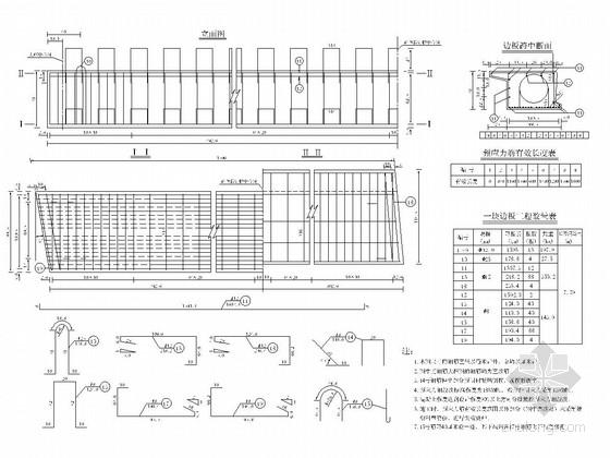 16m跨径预应力混凝土空心板梁设计图(24张)
