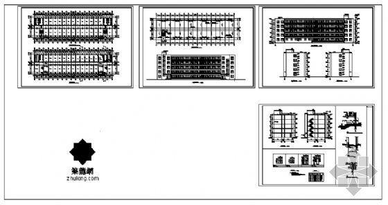 公司宿舍楼建筑施工图-4