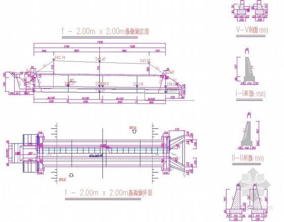 一级公路预应力桥CAD全套施工图纸