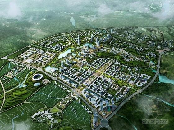 [福建]创意新城规划及单体建筑设计方案文本(含图则示意)