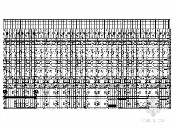 [江苏]某市政八层食堂及附属用房建筑施工图(含效果图)