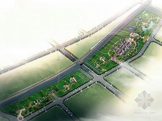 [内蒙古]生态葡萄主题观光游乐公园景观规划设计方案