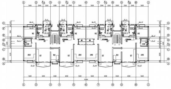 某六层住宅给排水及小区管线设计图