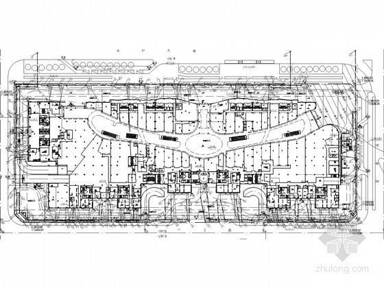 [深圳]100万平米地标建筑城市综合体给排水施工图纸(消防水炮 虹吸雨水)