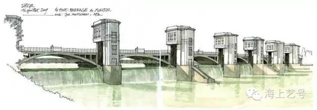 从国外建筑师手绘表现看色彩原理的应用_13