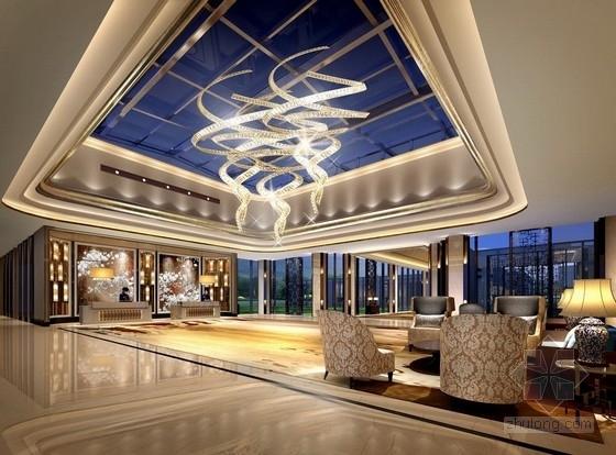 [河北]全球连锁高档典雅五星级国际酒店室内陈设设计方案