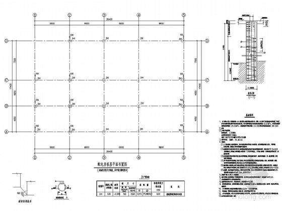 配电房结构施工图