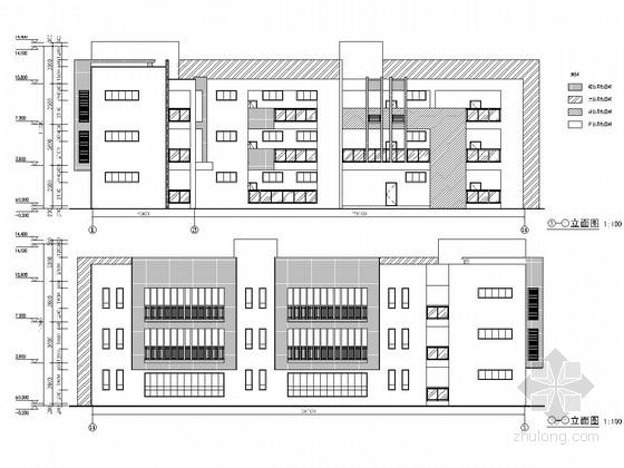 [重庆]三层L型框架结构幼儿园活动室及辅助用房结构施工图(含建筑图)