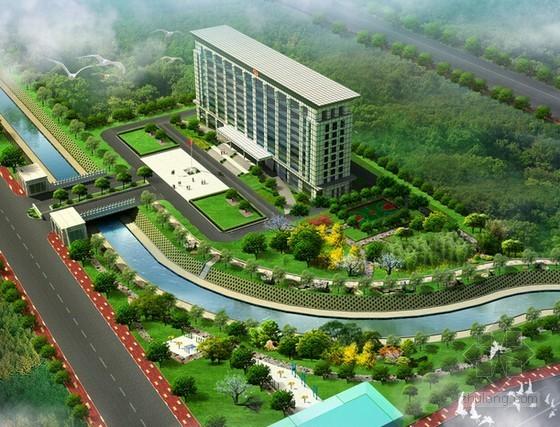 [浙江]办公区迁建项目景观绿化工程量清单控制价(含招标文件)