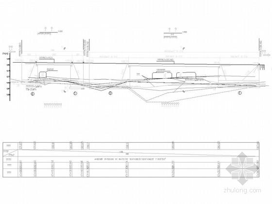 [贵州]30m预应力混凝土简支箱梁分离式立交施工图32张附结构计算书54页