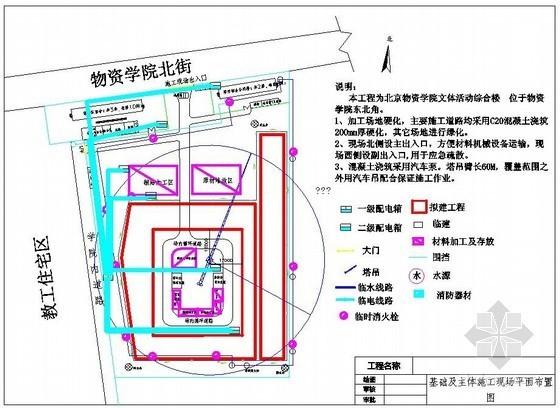 [北京]框架结构文体综合楼工程施工组织设计(201页 2014年)
