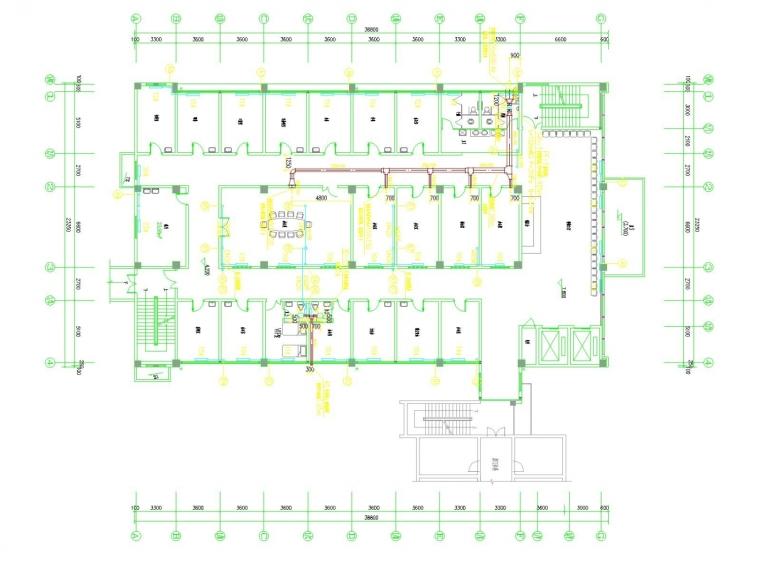 [河南]多层医院综合影像楼采暖通风系统设计施工图