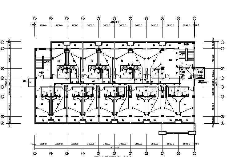 [江苏]综合办公楼电气施工图