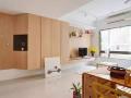 一平米竟能增十倍空间,60平米时尚婚房装修