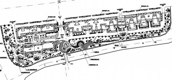 [杭州]商住两用综合社区园林景观绿化设计施工图