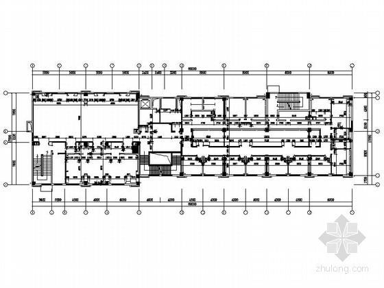 [江苏]典雅休闲花园式酒店附楼休息大厅室内施工图(含效果)
