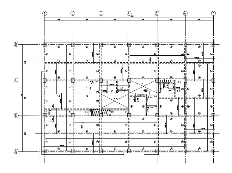 [北京]知名医院5层科研楼框架结构施工图(2016)