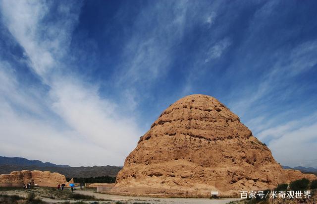 """中国""""最低调""""的皇陵:全部用土建造,却被称为东方金字塔_6"""