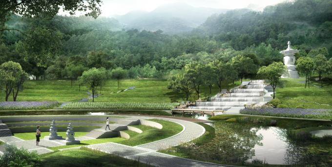 [广东]岭南佛教禅宗文化生态墓园景观设计方案_4