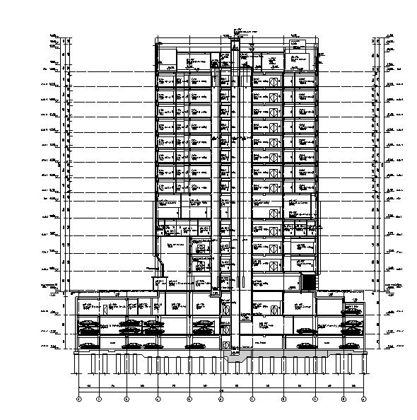 [海南]结构图纸高层建筑及水暖电专业全国际(1装中怎么医院是不是看消火栓暗图片
