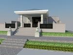 (原创)墓地设计案例效果图