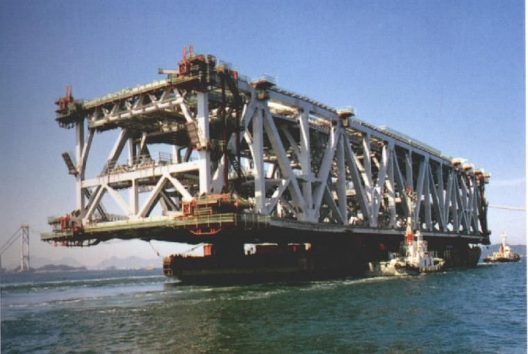 桥梁工程之斜拉桥设计概论(PPT,94页)-双层钢桁梁