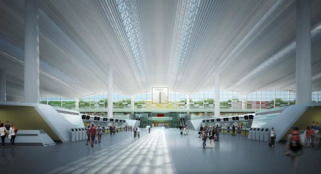 漫谈金属屋面的建筑设计应用(1)——广州新白云国际机场航站楼_26