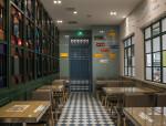 粤新茶餐厅设计方案文本