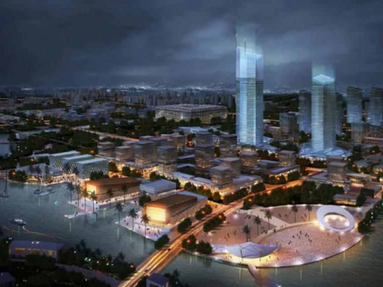 [浙江]杭州湾海新城核心区城市设计方案文本