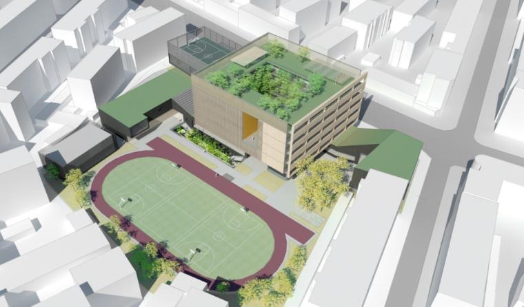 [直向建筑]昆山市玉山镇第一中心小学建筑方案