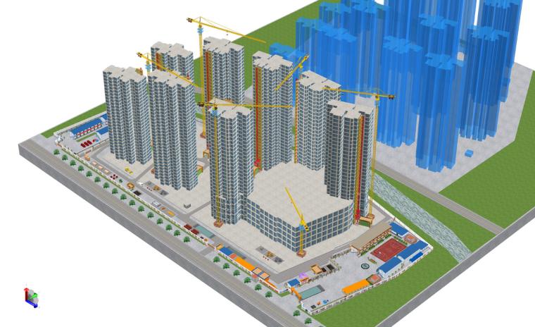 福州光明港两岸综合整治工程安置房一期第4标段项目