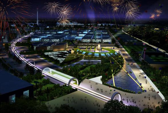 上海世博会规划设计方案文本-02效果图