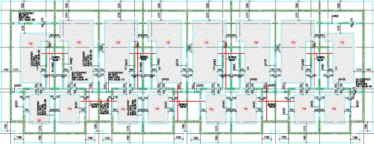 35基础结构平面图