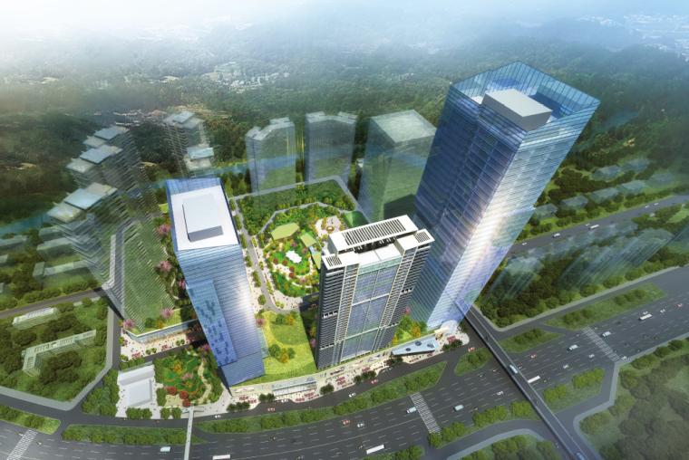 [深圳]莲塘港莲路东段两侧地块城市更新项目方案文本