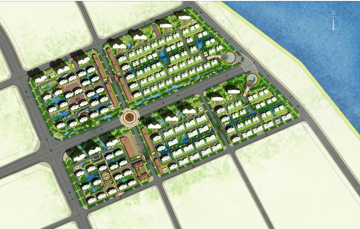 [湖北]16年设计地块概念规划设计(含住宅、洋房、别墅建筑)_8