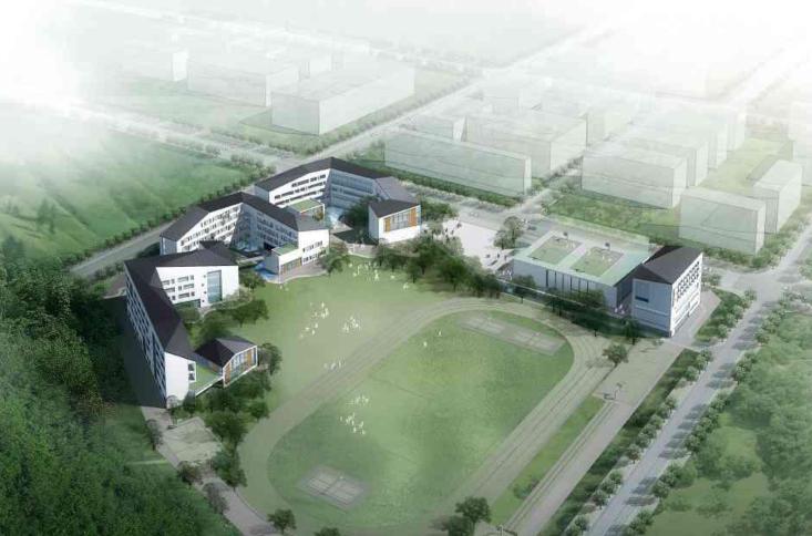 [广东]深圳某中学建筑设计方案文本