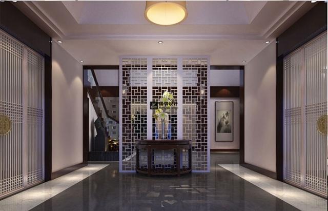 安飞公寓新中式风格装修设计效果图