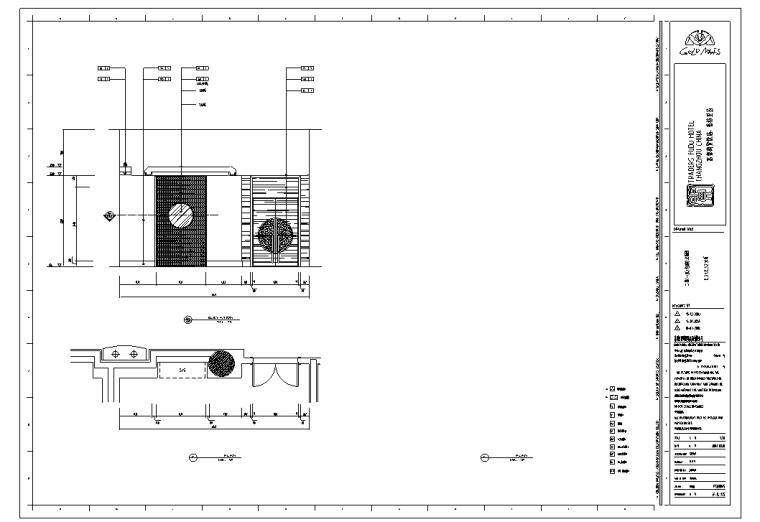 常州富都商贸样板房室内设计施工图及实景图