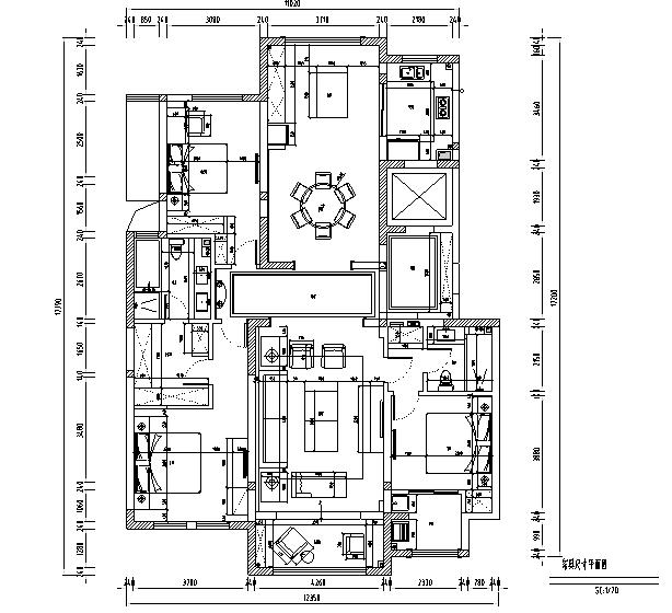 美式轻奢别墅设计施工图(附效果图)_2