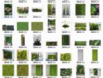 110款植物墙贴图