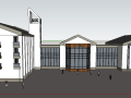 某商场建筑SU模型